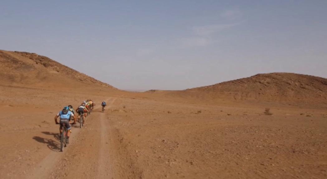 Avui s'ha reprès la Garmin Titan Desert amb la quarta etap