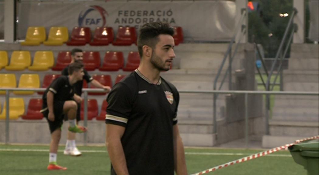 Jordi Aláez marxa cedit per l'FC Andorra al VallBanc Santa Coloma