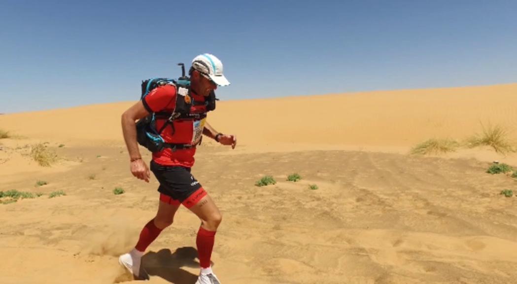 Jordi Buj ha finalitzat la Marathon des Sables després de