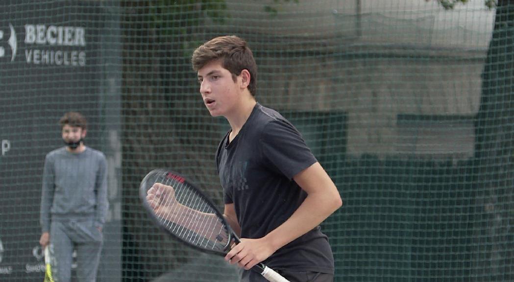 Jordi Trilla completa la delegació andorrana a la Copa Davis