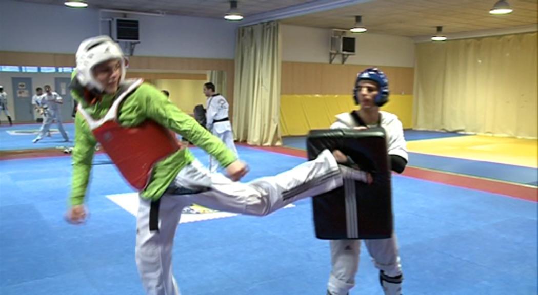 Jorge González i Abdou Taouil competeixen aquest dissabte al campionat del món de taekwondo a Manchester