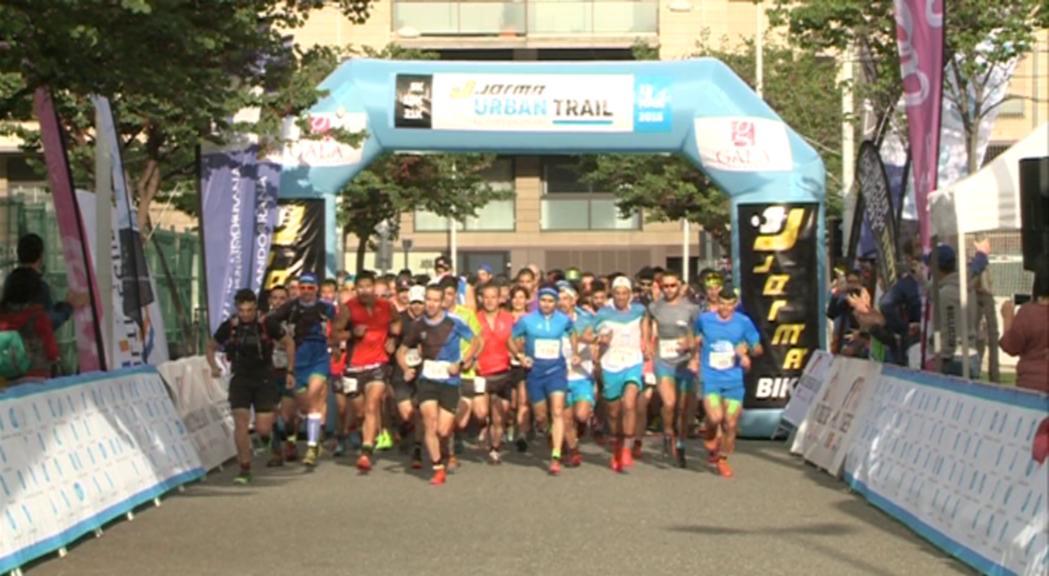 La Jorma Urban Trail assoleix l'objectiu i supera els 500 participants