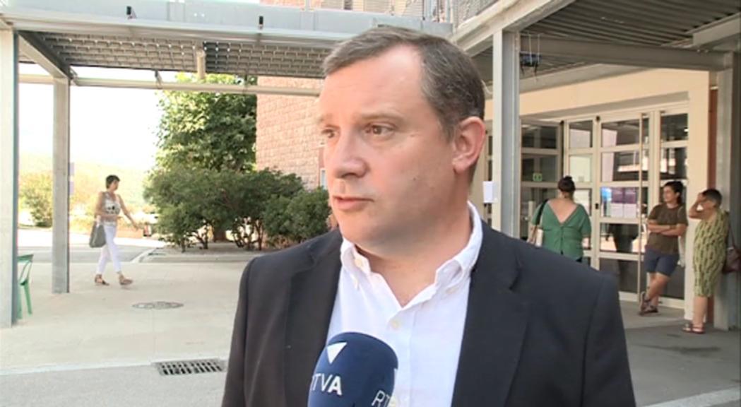 Josep Majoral prioritza la seguretat a la zona de l'esllavissada