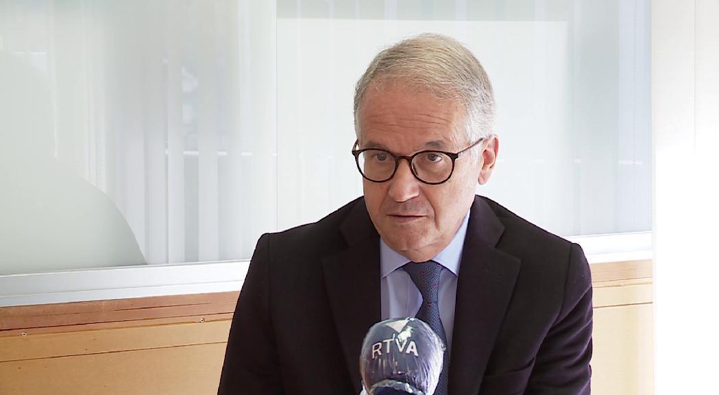 """Josep Maria Piqué sobre el personal: """"Els recursos al país quasi quasi estan esgotats"""""""