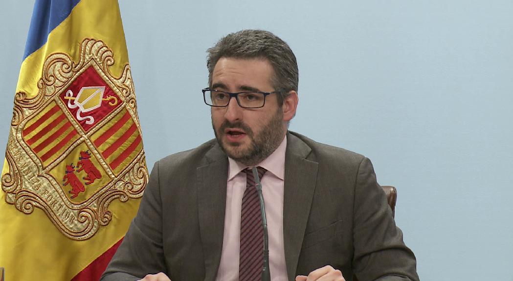 """Jover lamenta les declaracions """"desafortunades"""" de Pere López sobre les vies de finançament exterior"""
