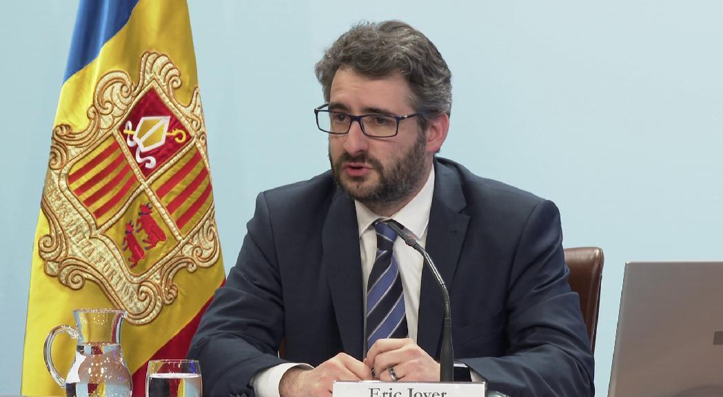 Jover referma el compromís de no incrementar l'endeutament i justifica recórrer als dividends de FEDA i Andorra Telecom
