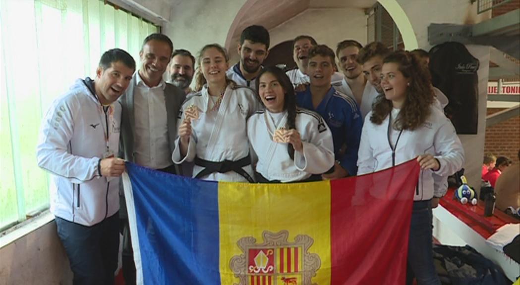 El judo protagonitza la jornada obrint el medaller