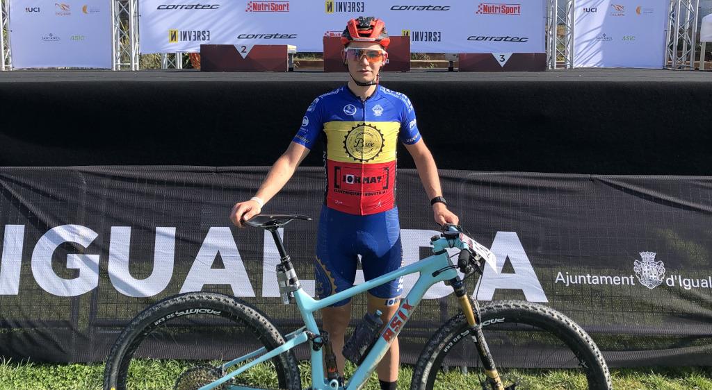 Kilian Folguera acaba segon en categoria sub-23 a la VolCAT