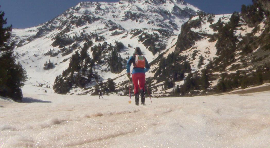 Laia Sebastià, la protagonista de l'any en l'esquí de muntanya