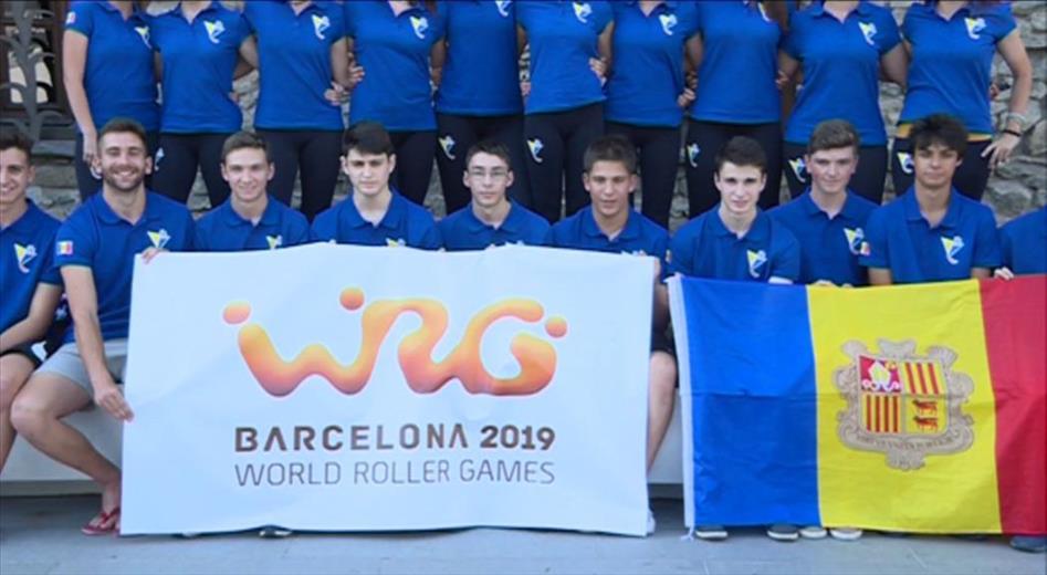 L'Andorra Hoquei sub-19 tanca el Mundial amb ple de victòries