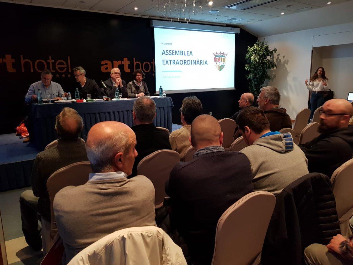 L'assemblea de socis de l'FC Andorra aprova la compra de l'entitat per part de l'empresa de Gerard Piqué