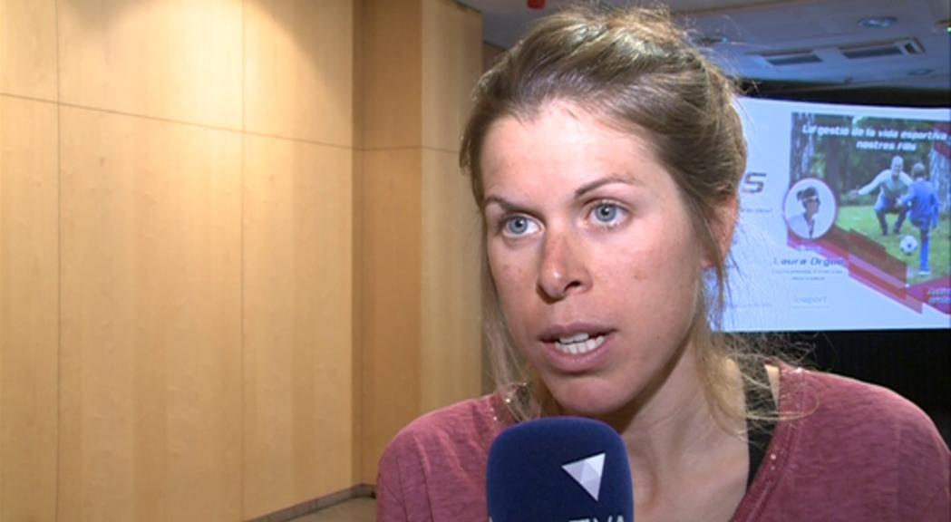 Laura Orgué fa bon balanç de la temporada tot i el mal regust final per lesió