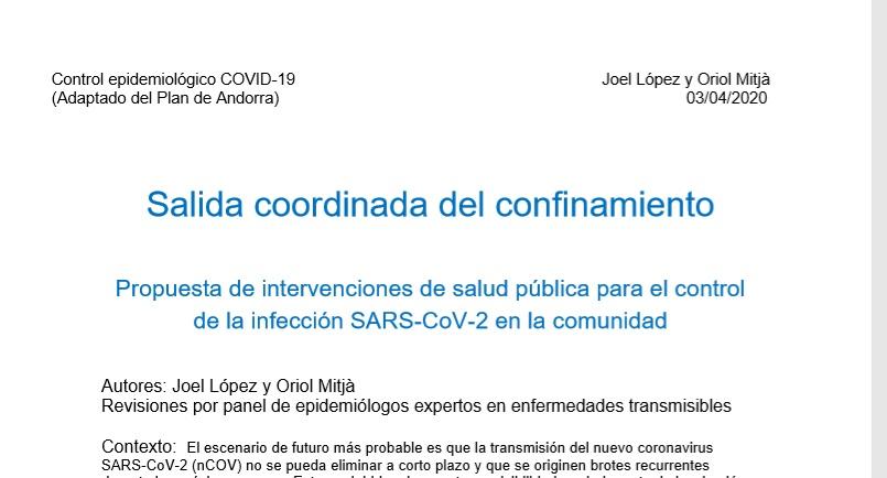 L'epidemiòleg Oriol Mitjà posa Andorra com a exemple en la seva proposta per sortir del confinament