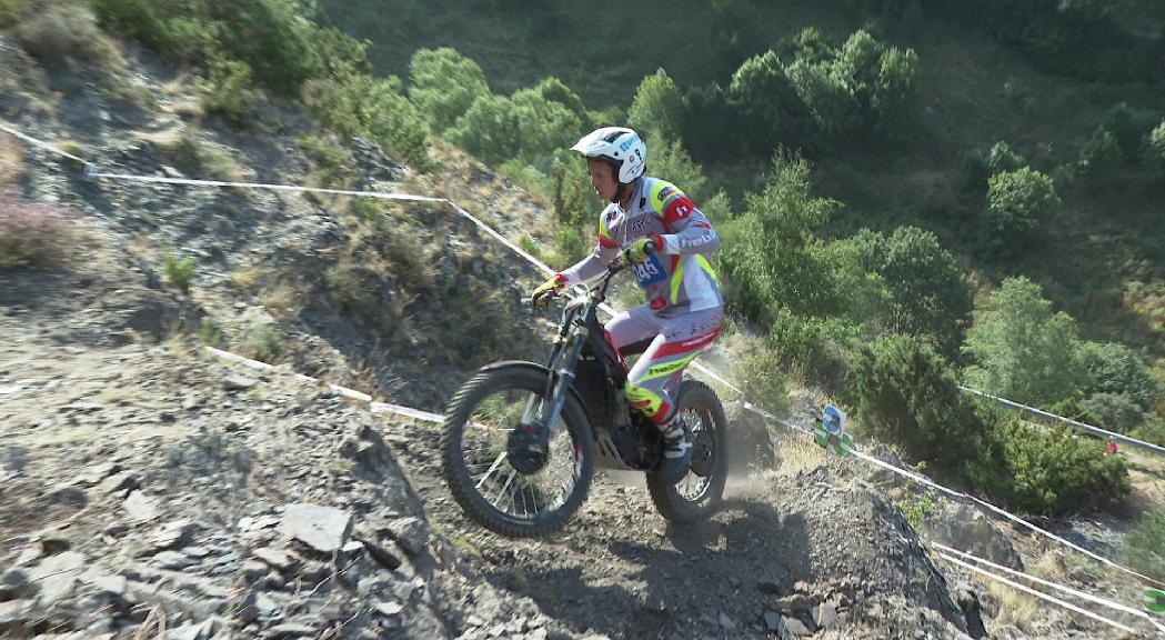 Lestang es proclama campió d'Andorra de trial