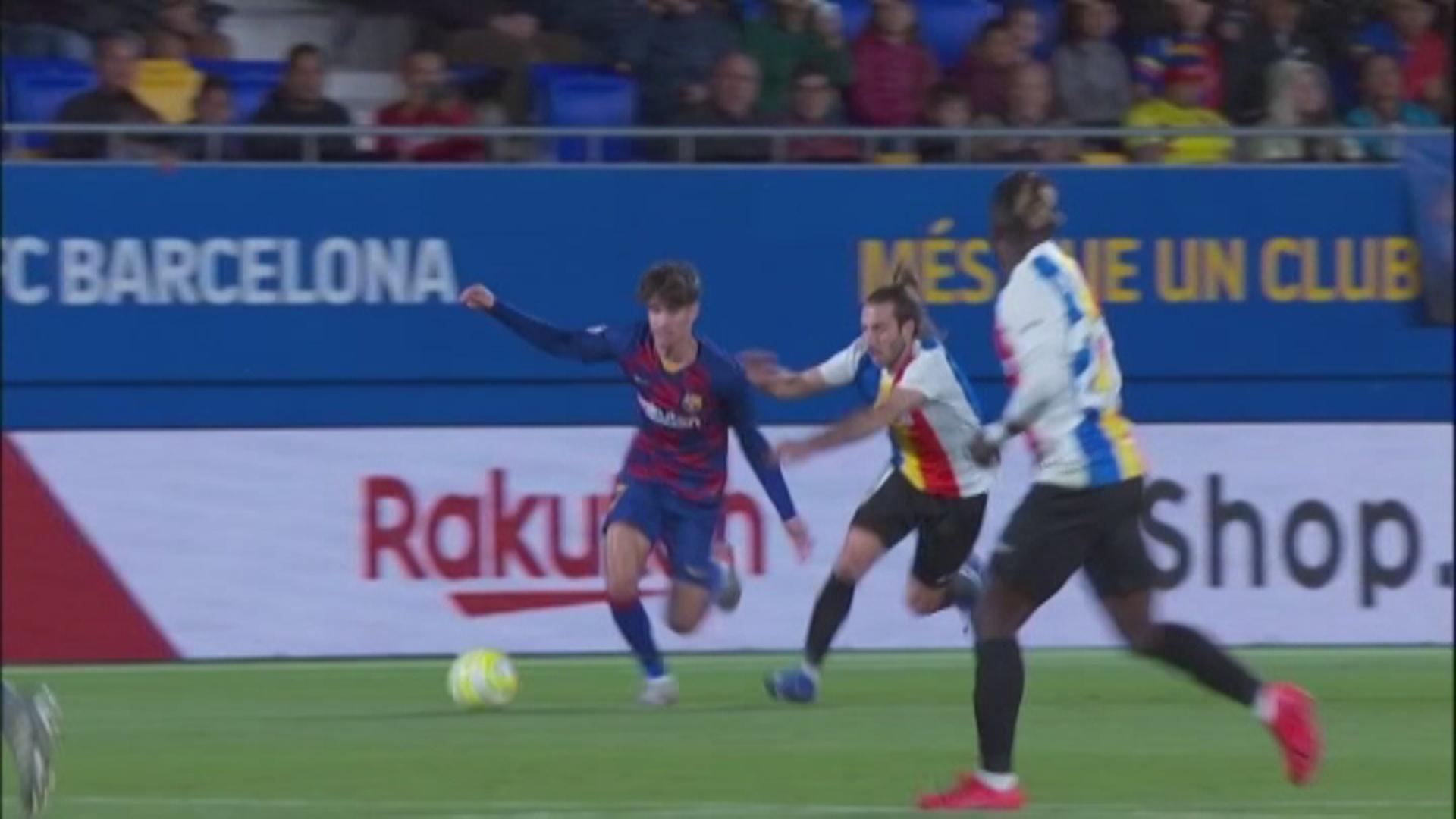 L'FC Andorra empata al camp del Barça B i acumula 10 jornades invicte