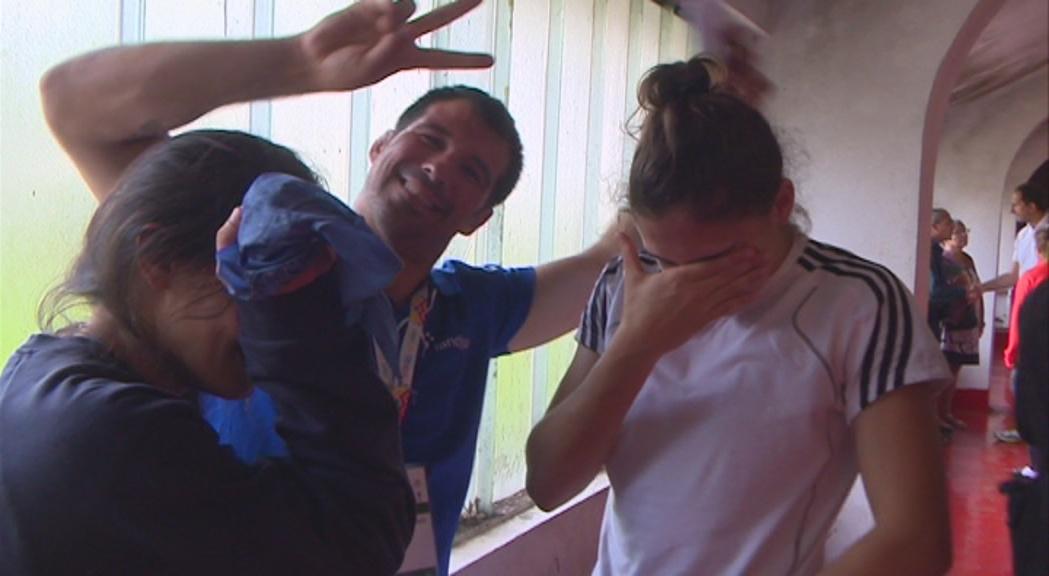 Lia Povedano i Alda Babi es pengen el bronze també en judo per equips
