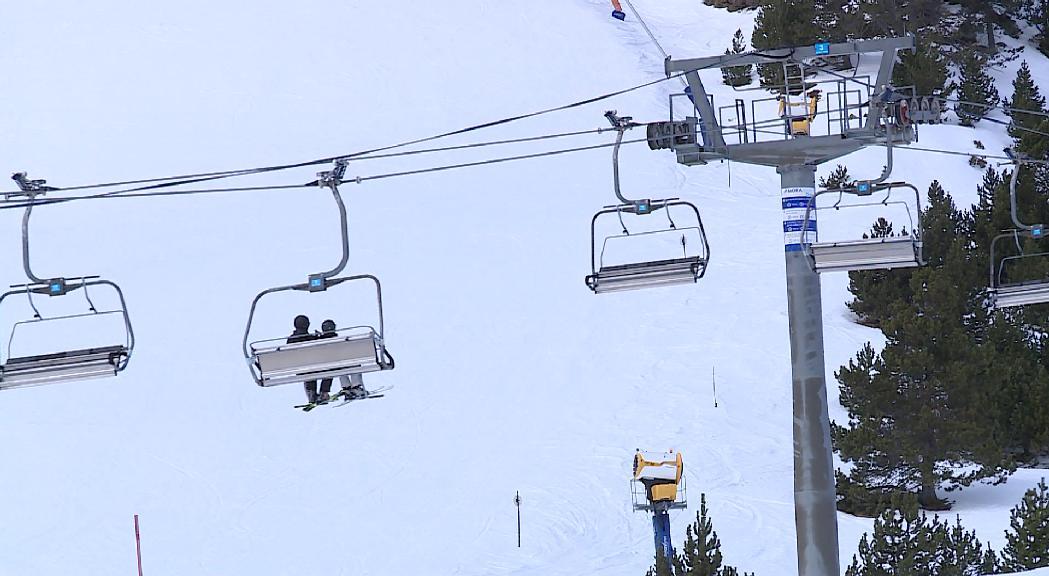 Limitar l'aforament o demanar el passaport Covid als espais tancats, el principal dubte ara per a les estacions d'esquí