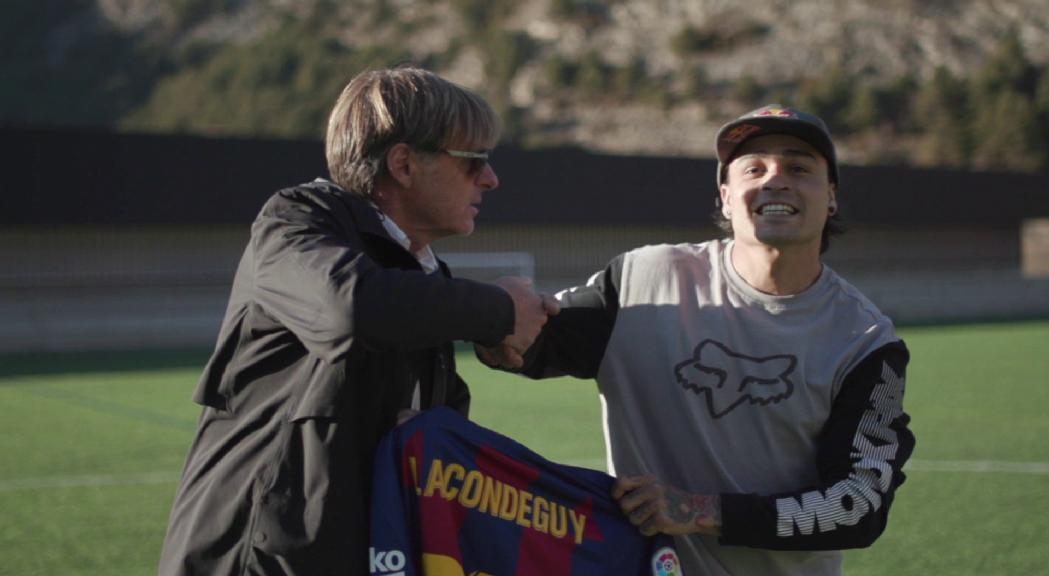 La llegenda viva del `'freeride' en BTT Andreu Lacondeguy fitxa per Commençal