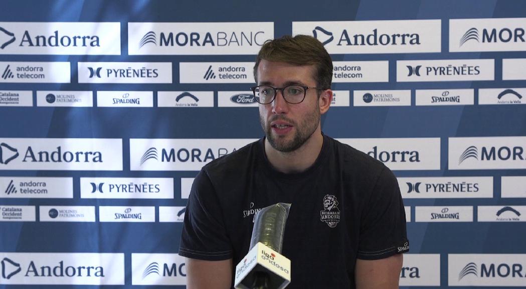 Llovet creu que la plaça per a la propera Eurocup traurà pressió a València