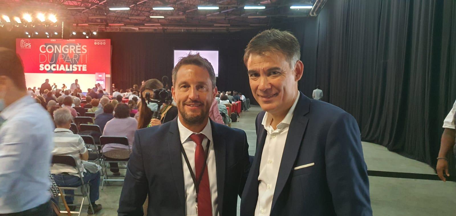 El president socialdemòcrata, Pere López, va assist