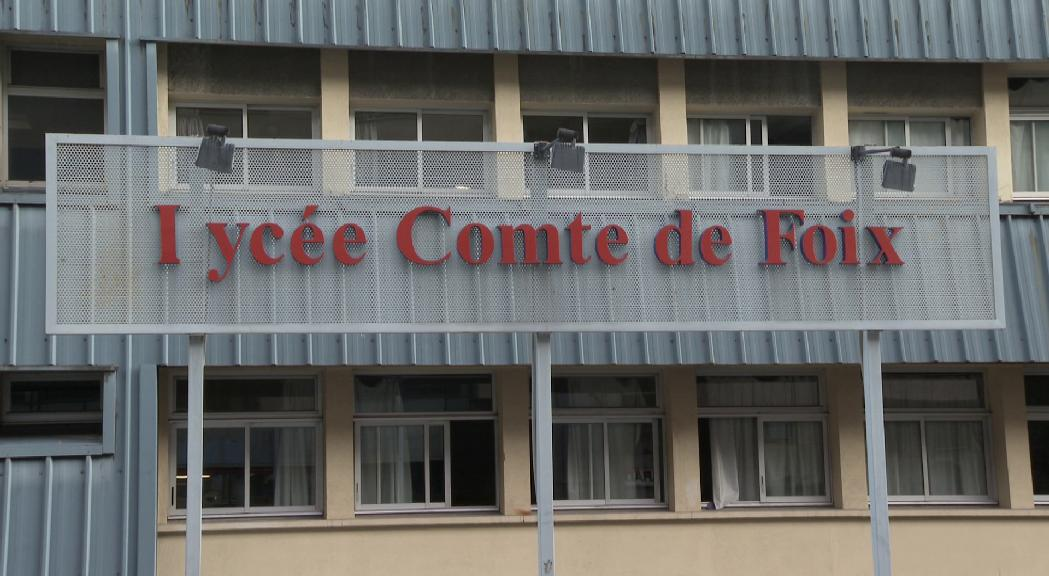 Al Lycée només tornaran a les aules els alumnes d'11 a 13 anys amb mesures de seguretat estrictes i mascareta obligatòria