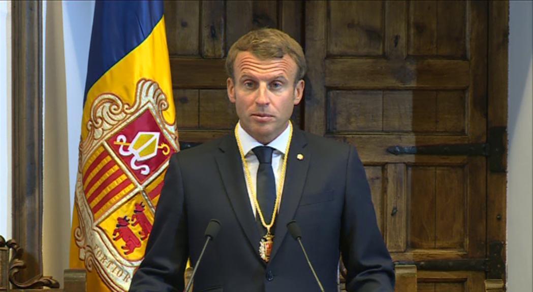 El president de la República francesa i copríncep d