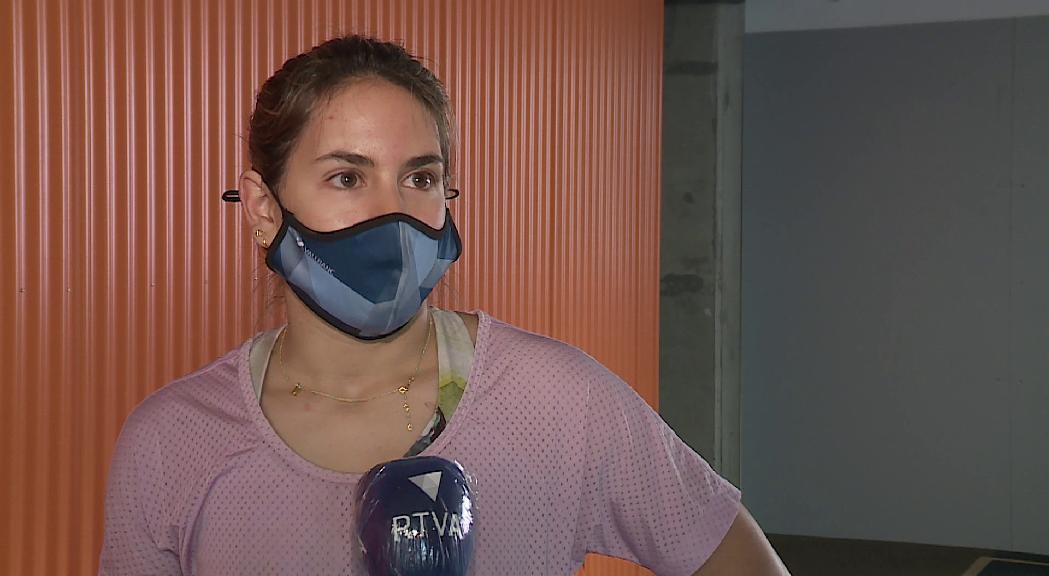 Maeva Estevez enceta temporada amb la Copa del Món com a objectiu