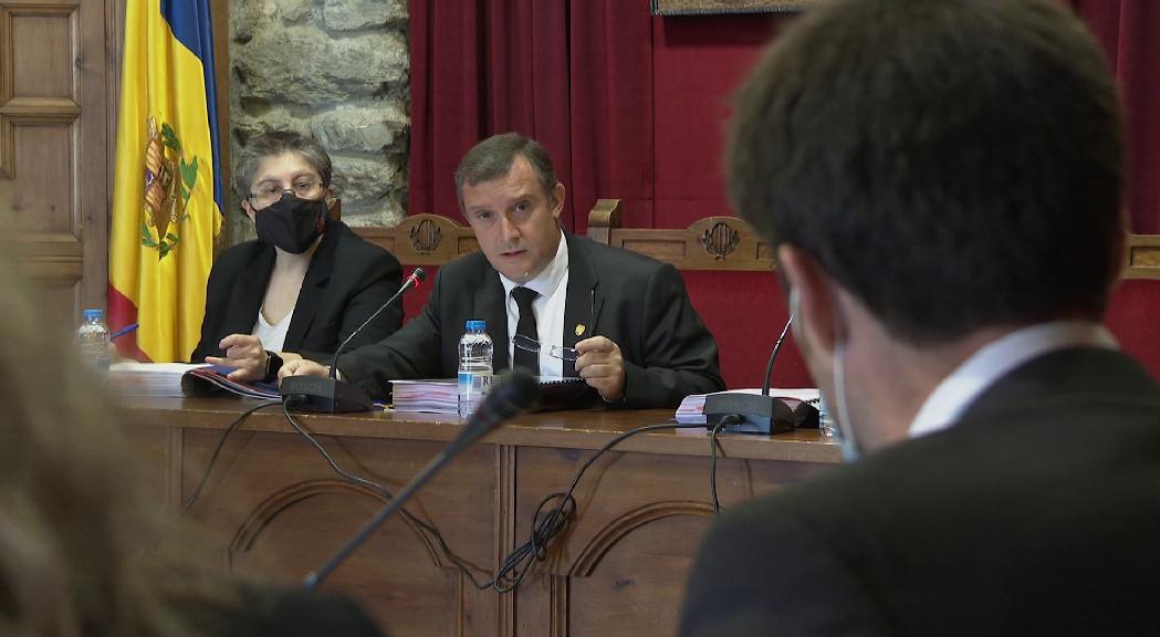 Majoral assegura que la pandèmia no ha compromès les inversions més immediates a Sant Julià