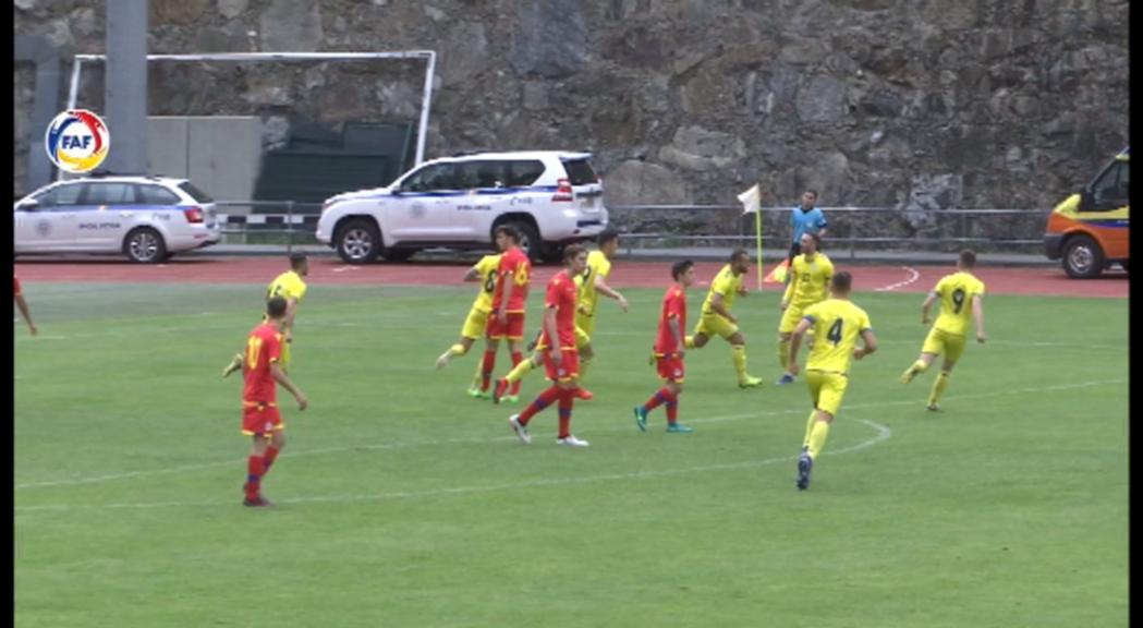 La sub-21 de futbol ha perdut per un contundent 0 a 4 contra Koso