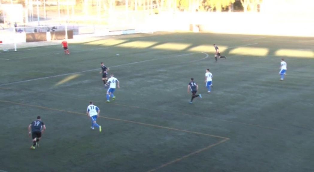 La manca d'encert a Mollerussa trenca la ratxa de victòries del FC Andorra