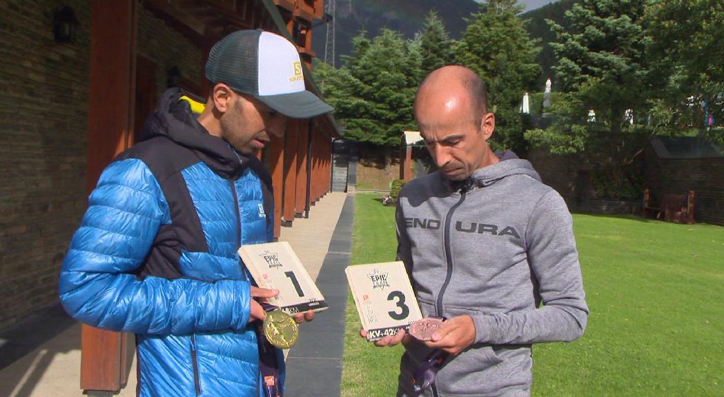 Marc i Òscar Casal esperen que els èxits del Mundial facin que el país aposti més per les curses de muntanya