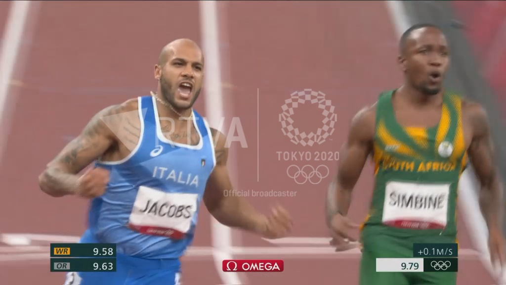 Marcell Jacobs guanya la prova de 100 metres i Rojas, rècord del món en triple salt