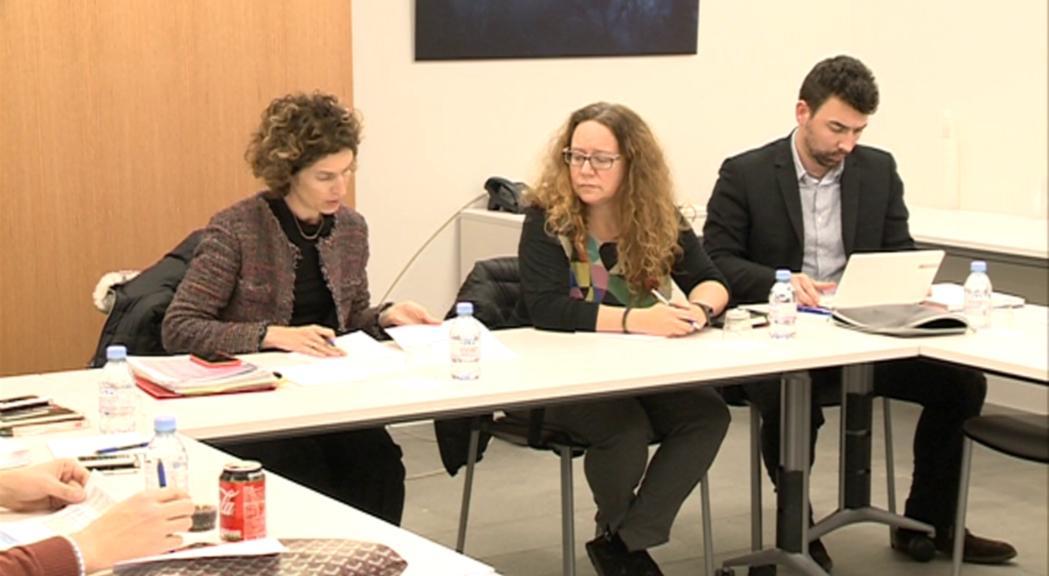 Maria Ubach exposa en comissió el calendari de reunions per a l'acord amb la UE