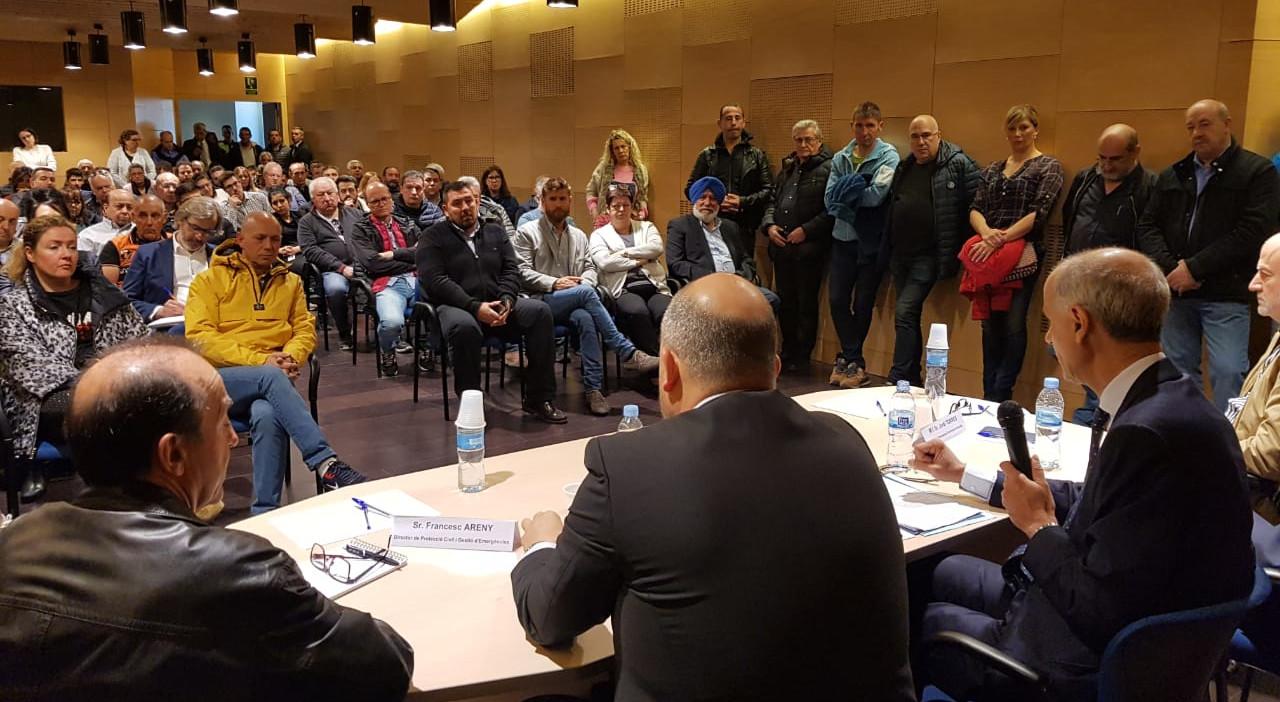 Martí anuncia in situ ajudes per al comerç del Pas, que podrien arribar fins a 1,2 milions