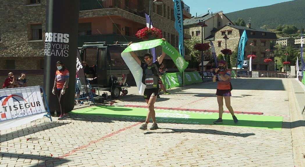Martí Lázaroi Aida Pérez guanyen la marató de la Canillo TrailRaces