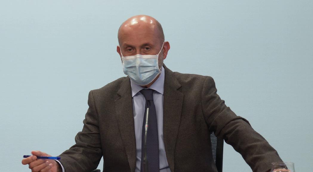 """Martínez Benazet sobre les afirmacions de Montaner: """"Em preocupen molt les manifestacions de persones influents que puguin comportar una relaxació de mesures"""""""