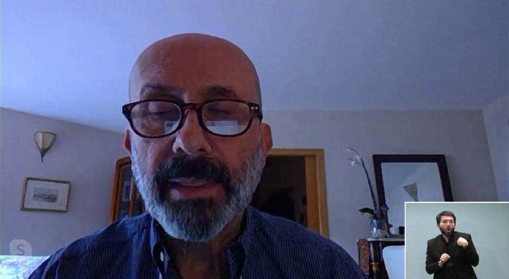 Martínez Benazet alerta la gent gran del risc d'anar als comerços i els emplaça als serveis dels comuns i el Govern