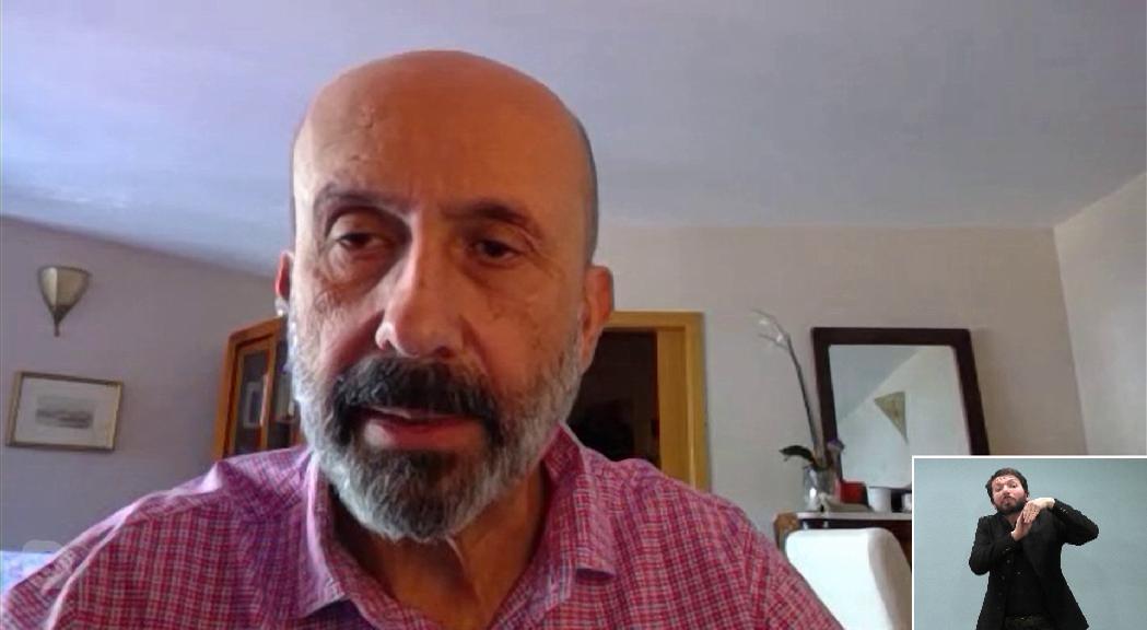Martínez Benazet assegura que ha baixat molt la pressió sobre l'UCI i tot el sistema sanitari