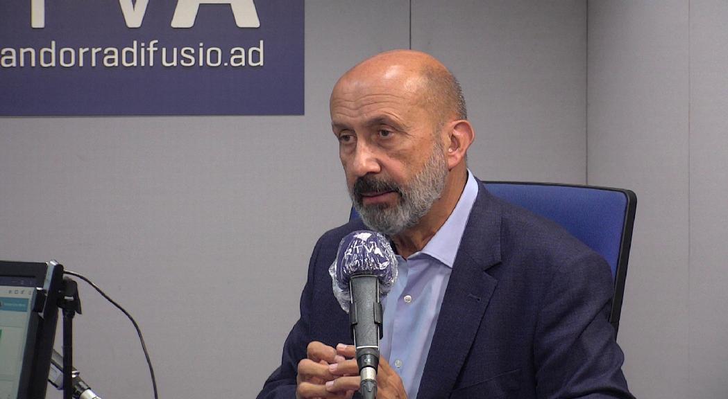 Martínez Benazet titlla d'elevada i alarmant però no inesperada la incidència actual de la Covid-19