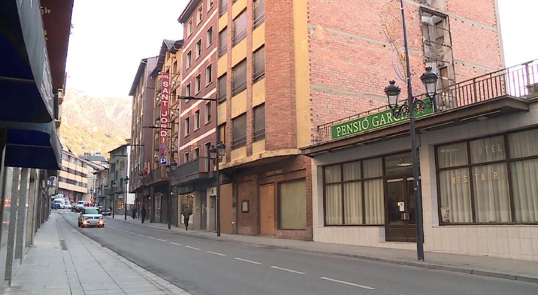 Més de 100 nous pisos de lloguer a Andorra la Vella amb la transformació de dos hotels en blocs d'habitatges
