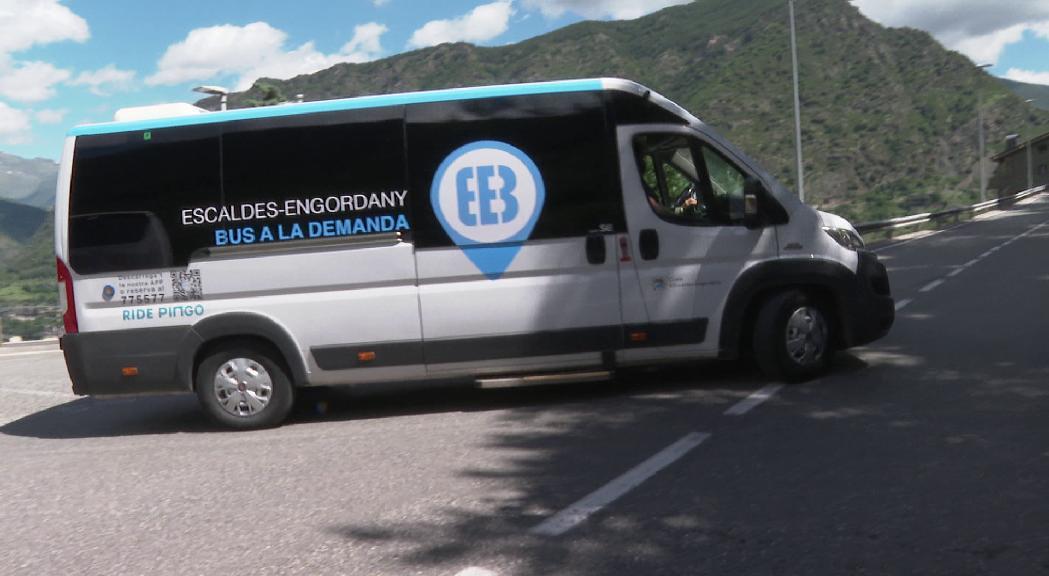 Més de 12.000 persones han utilitzat el bus a la demanda d'Escaldes-Engordany en els tres mesos de prova pilot