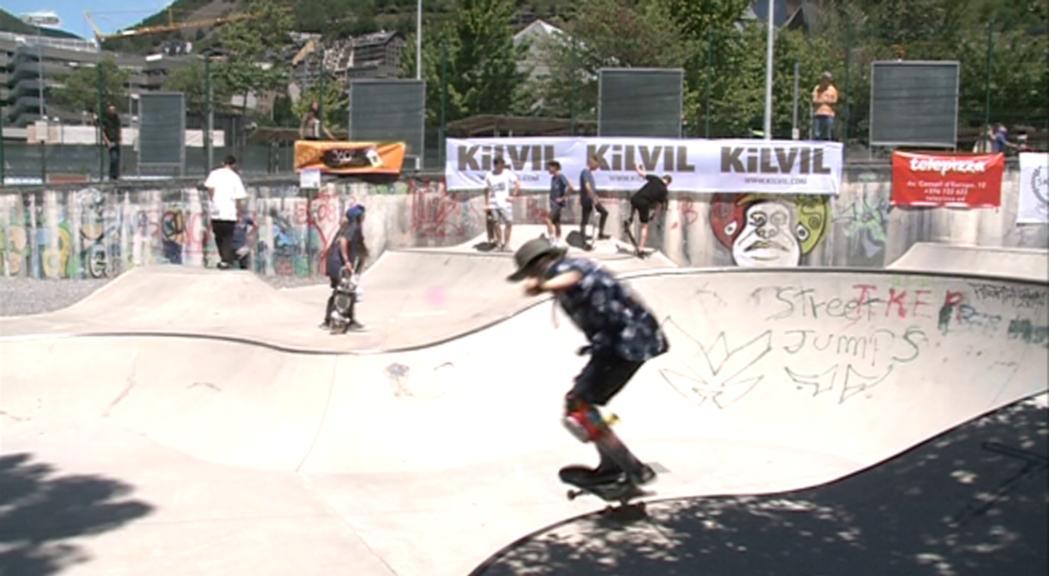 Més de 20 skaters obren la 4a edició de la lliga