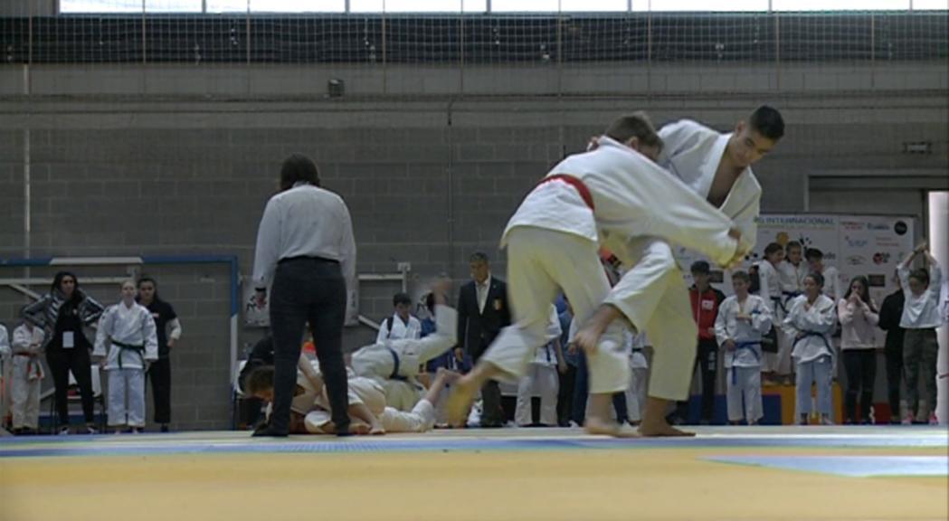 Més de 400 joves judokes tanquen un Vila d'Andorra la Vella de rècord