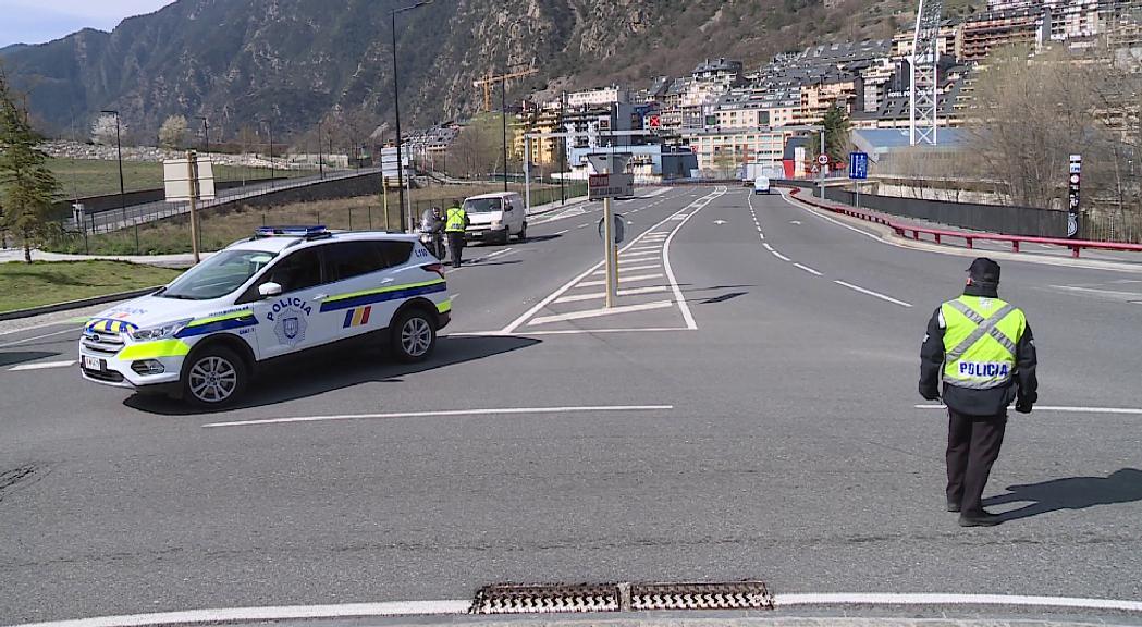 Més controls policials davant de l'increment de la mobilitat de la població