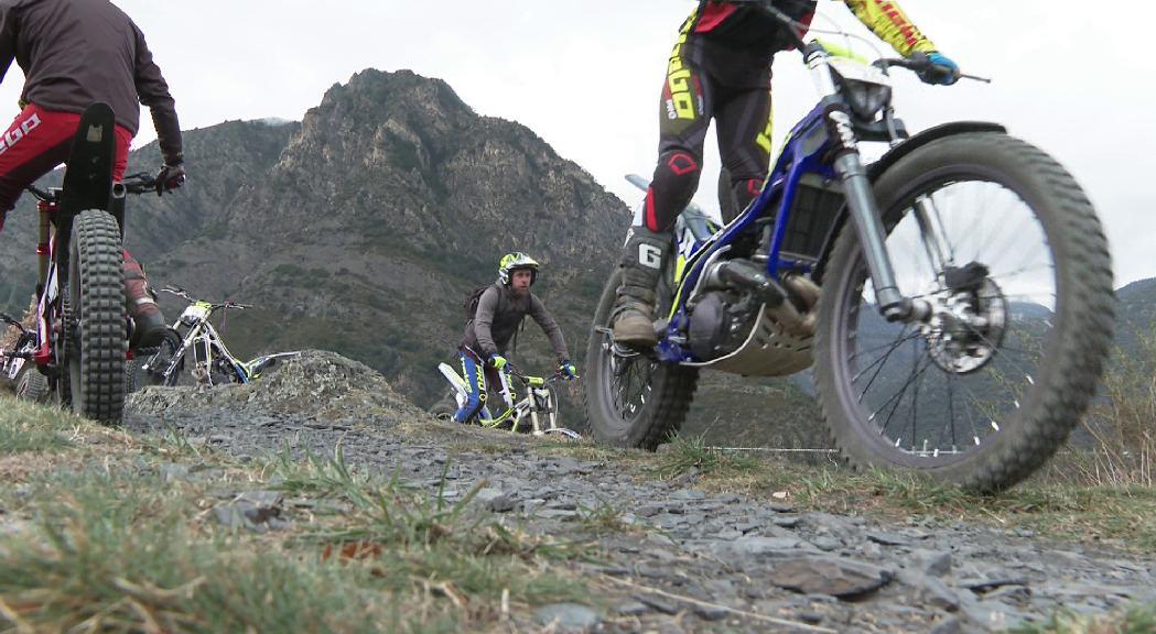 Mig centenar de participants obren el Campionat d'Andorra de trial a Nagol