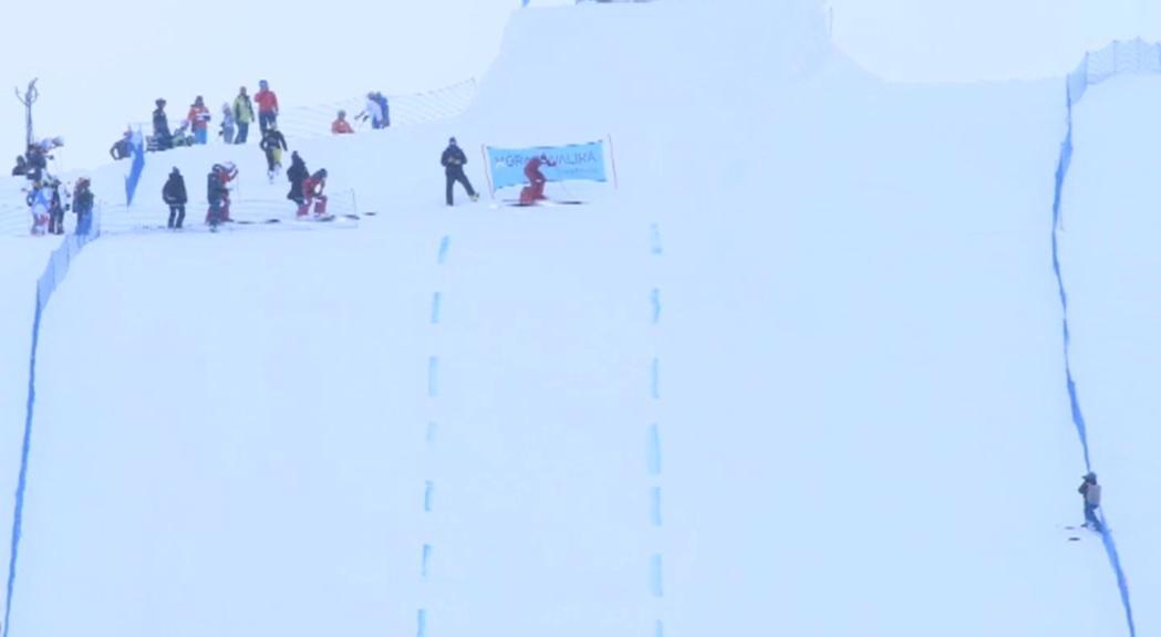 Els millors esquiadors de quilòmetre llançat ja baixen per la Riberal de Grau Roig