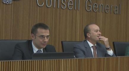 El ministre i el secretari d'Estat de Justícia i Interior donen positiu de la Covid-19