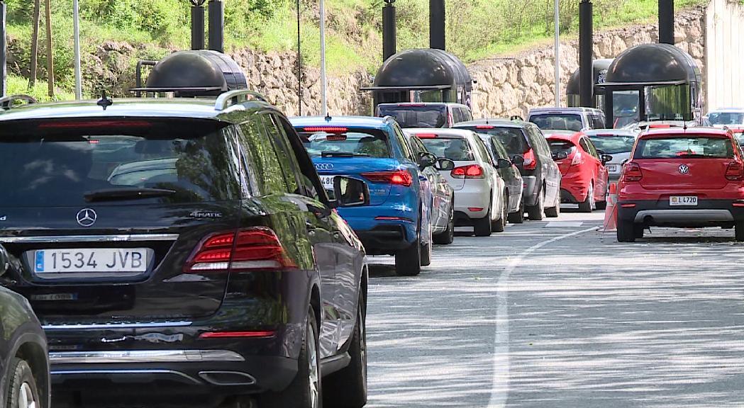 Mobilitat avisa de complicacions de sortida aquest pont de Sant Joan i l'entrada d'uns 14.000 vehicles
