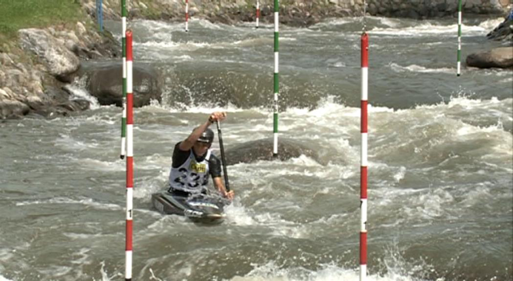 Mònica Doria es classifica per a la final de canoa de l'europeu amb el tercer millor temps