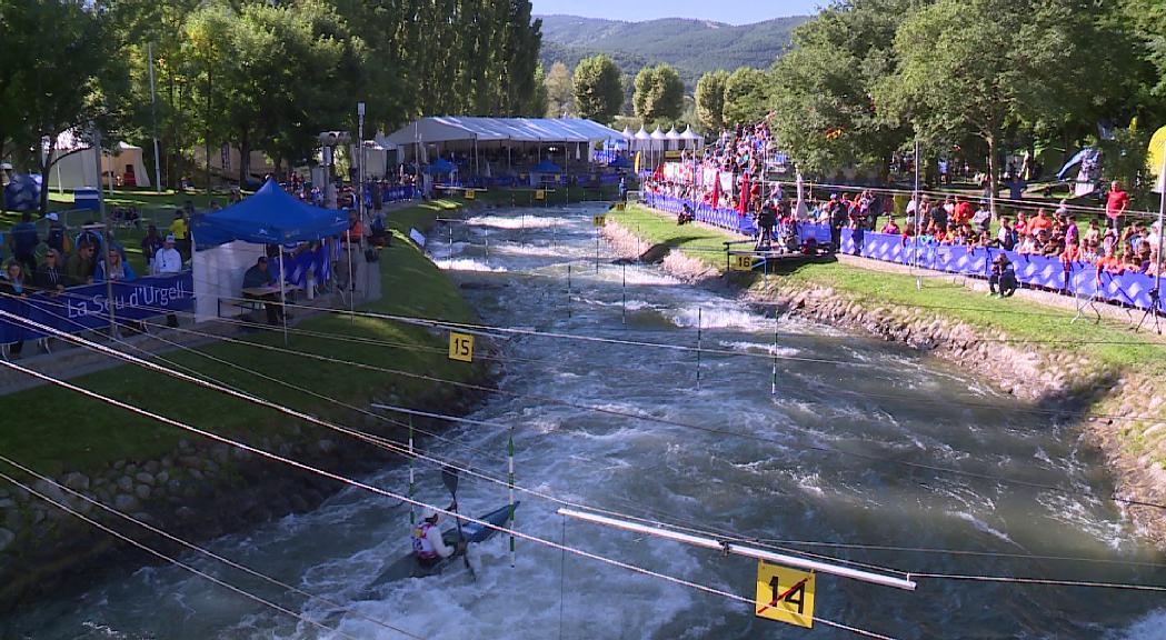 Mònica Doria es classifica per a la semifinal de caiac al Mundial de la Seu i ja pensa en la classificació olímpica